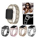 voordelige Apple Watch-hoesjes-Horlogeband voor Apple Watch Series 3 / 2 / 1 Apple Sportband Roestvrij staal Polsband