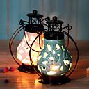 hesapli Home Fragrances-Modern / Çağdaş / minimalist tarzı Seramik / Demir Mum Tutucular Büyük Şamdan 1pc, Mum / Mumluk