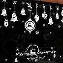 hesapli Pencere Malzmeleri-Pencere Filmi ve Çıkartma Dekorasyon Noel Tatil PVC Pencere Çıkartması