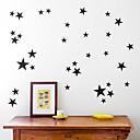 hesapli Kolyeler-Dekoratif Duvar Çıkartmaları / Buzdolabı Çıkartmaları - Uçak Duvar Çıkartmaları Yıldızlar Oturma Odası / İç Mekan