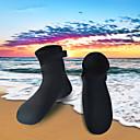 abordables Leurres & Mouches de Pêche-HISEA® Chaussettes de Plongée 3mm Néoprène pour Adultes - Antidérapant Natation / Snorkeling