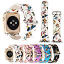 رخيصةأون أساور ساعات هواتف أبل-حزام إلى أبل ووتش سلسلة 5/4/3/2/1 Apple عقدة جلدية جلد اصطناعي / جلد طبيعي شريط المعصم