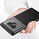 cheap Galaxy Note Series Cases / Covers-Case For Samsung Galaxy Note 9 Embossed Back Cover Solid Colored Hard PC for Note 9