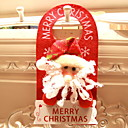 cheap Home Decoration-Christmas Ornaments Holiday / Cartoon Cotton Fabric Square Novelty Christmas Decoration