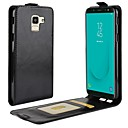 cheap Earrings-Case For Samsung Galaxy J8 / J6 Card Holder / Flip / Magnetic Full Body Cases Solid Colored Hard PU Leather for J8 / J7 Duo / J7 (2017)