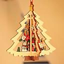ieftine Machiaj & Îngrijire Unghii-Ornamente de crăciun Vacanță De lemn Pătrat de lemn / Novelty Glob de Craciun