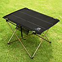 cheap Camp Bedding-Camping Table Outdoor Portable, Lightweight, Collapsible Aluminium for Fishing / Hiking / Beach Black