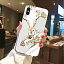 ieftine Machiaj & Îngrijire Unghii-Maska Pentru Apple iPhone X / iPhone 8 Plus / iPhone 8 Transparent / Model Capac Spate Animal Moale TPU