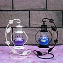 hesapli Home Fragrances-Modern / Çağdaş / minimalist tarzı Cam / Demir Mum Tutucular Büyük Şamdan 1pc, Mum / Mumluk