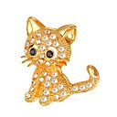 cheap Brooches-Women's Stylish Brooches - Animal Fashion Brooch Gold / Silver For Gift / Daily