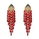 preiswerte Halsketten-Damen Retro Stilvoll Kreolen - Künstlerisch, Klassisch, Cowboy Regenbogen / Rot / Blau Für Abschluss Party