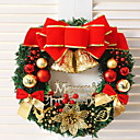 cheap Home Decoration-Garlands / Holiday Decorations Holiday Plastic Round Novelty Christmas Decoration