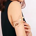 رخيصةأون بدائل-نسائي مجوهرات الجسم 10 cm سلسلة الذراع ذهبي / فضي سيدات / كلاسيكي / عرقي الحديد مجوهرات من أجل بيكيني / مهرجان الصيف