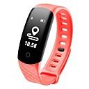 hesapli Duvar dekorasyonu-COOLHILLS CB608 PRO Akıllı Bilezik Android iOS Bluetooth Su Geçirmez Kalp Ritmi Monitörü Kan Basıncı Ölçümü Dokunmatik Ekran Uzun Bekleme Pedometre Arama Hatırlatıcı Uyku Takip Edici Hareketsiz