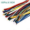 cheap Modules-100PCS Heat Shrink Tubing Tube Sleeving Wrap Wire Cable Kit