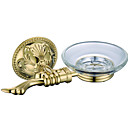 cheap Daytime Running Lights-Soap Dishes & Holders New Design / Cool Contemporary Brass 1pc Wall Mounted