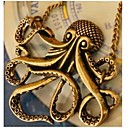 رخيصةأون ساعات الرجال-رجالي قلائد الحلي القلائد بيان الارتباط الكوبي حيوان عبارة شائع سبيكة ذهبي 55 cm قلادة مجوهرات 1PC من أجل مهرجان شارع