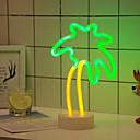 hesapli LED Sürücü-1set Gece aydınlatması LED Renkli AA Bataryalar Powered Çocuklar için / Yaratıcı / Düğün <5 V