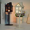 preiswerte Home Fragrances-Modern / Zeitgenössisch Eisen Kerzenhalters Kandelaber 1pc, Kerze / Kerzenhalter