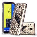 abordables Coques / Etuis pour Galaxy Série S-Coque Pour Samsung Galaxy J6 / J4 Motif Coque Plumes Flexible TPU pour J7 (2017) / J6 / J5 (2017)