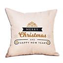저렴한 아이패드 케이스 / 커버-베게커버 휴일 폴리 에스터 광장 파티 크리스마스 장식