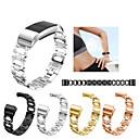 저렴한 Fitbit 밴드 시계-시계 밴드 용 Fitbit Charge 2 핏빗 스포츠 밴드 / 쥬얼리 디자인 스테인레스 스틸 손목 스트랩
