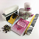cheap Makeup & Nail Care-Acrylic Kit For Finger Nail Durable nail art Manicure Pedicure Simple Daily