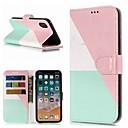 olcso iPhone tokok-Case Kompatibilitás Apple iPhone XR / iPhone XS Max Pénztárca / Kártyatartó / Állvánnyal Héjtok Márvány Kemény PU bőr mert iPhone XS / iPhone XR / iPhone XS Max