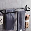 رخيصةأون أدوات الحمام-قضيب المنشفة تصميم جديد / كوول الحديث الفولاذ المقاوم للصدأ / الحديد 1PC مزدوج مثبت على الحائط