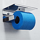 billige Mode Halskæde-Toiletrulleholder Nyt Design Moderne Rustfrit stål 1pc Vægmonteret