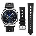 tanie Opaski do zegarka Samsung-Watch Band na Gear S3 Frontier / Gear S3 Classic LTE Samsung Galaxy Klasyczna klamra / Bransoletka skórzana Skóra Opaska na nadgarstek