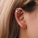 voordelige Oorbellen-Dames Clip oorbellen Oor manchetten - Kroon Eenvoudig, Koreaans, leuke Style Goud / Zwart / Zilver Voor Lahja Dagelijks Straat