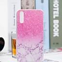 رخيصةأون أطقم المجوهرات-غطاء من أجل Huawei Huawei P20 / Huawei P20 Pro / Huawei P20 lite شفاف / نموذج غطاء خلفي حجر كريم ناعم TPU