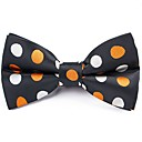 cheap Men's Bow Ties-Unisex Party / Basic Bow Tie - Polka Dot / Color Block Bow