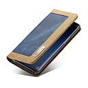 baratos Capinhas para Galaxy Série S-Capinha Para Samsung Galaxy S9 Plus / S9 Carteira / Porta-Cartão / Flip Capa Proteção Completa Sólido Rígida Têxtil para S9 / S9 Plus / S8 Plus