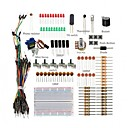 baratos KITS Faça-Você-Mesmo-kit de arranque básico / breadboard jumper fios cor led resistores campainha para arduino uno r3 mega2560 mega328 nano