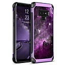 cheap Galaxy Note 9 Cases / Covers-BENTOBEN Case For Samsung Galaxy Note 9 Shockproof / Plating / Pattern Back Cover Lines / Waves / Scenery / Fruit Hard PU Leather / TPU / PC for Note 9