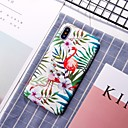 abordables Coques d'iPhone-Coque Pour Apple iPhone XR / iPhone XS Max Motif Coque Flamant Dur PC pour iPhone XS / iPhone XR / iPhone XS Max