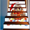 Недорогие LED огни для авто-Декоративные наклейки на стены - Праздник стены стикеры Рождество На открытом воздухе / Офис