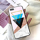 cheap iPhone Cases-Case For Apple iPhone X / iPhone 8 Plus Pattern Back Cover Geometric Pattern / Marble Hard Tempered Glass for iPhone X / iPhone 8 Plus / iPhone 8