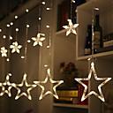 hesapli LED Şerit Işıklar-2,5m Dizili Işıklar 138 LED'ler Sıcak Beyaz Dekorotif 220-240 V 1set