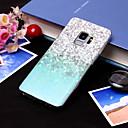 رخيصةأون حافظات / جرابات هواتف جالكسي S-غطاء من أجل Samsung Galaxy S9 / S9 Plus / S8 Plus IMD / نموذج غطاء خلفي لون متغاير ناعم TPU