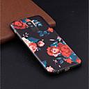 رخيصةأون حافظات / جرابات هواتف جالكسي A-غطاء من أجل Samsung Galaxy A6 (2018) / A6+ (2018) / A5 (2017) نموذج غطاء خلفي زهور ناعم TPU