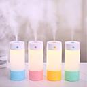 baratos Luminárias de LED  Duplo-Pin-brelong simples ar purificação aroma umidificador noite luz 1 pc