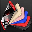 رخيصةأون حافظات / جرابات هواتف جالكسي A-غطاء من أجل Samsung Galaxy A6 (2018) ضد الصدمات / مثلج غطاء خلفي لون سادة قاسي الكمبيوتر الشخصي