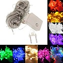 cheap LED String Lights-BRELONG Waterproof 10 Meters 100LED 8 Patterns Holiday Decoration Light String European Regulations 1 pc