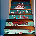 ieftine Bijuterii de Păr-Autocolante de Perete Decorative - Sărbători perete Abțibilduri Crăciun Exterior / Birou