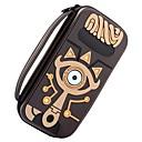 Недорогие Аксессуары для Nintendo Switch-Zelda Slate Pack Сумки Назначение Nintendo Переключатель ,  Портативные / Новый дизайн / обожаемый Сумки Кожа PU 1 pcs Ед. изм