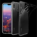 رخيصةأون Huawei أغطية / كفرات-غطاء من أجل Huawei Huawei P20 / Huawei P20 Pro / Huawei P20 lite شفاف غطاء خلفي لون سادة ناعم TPU / P10 Plus / P10 Lite / P10