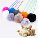 Недорогие Игрушки для кошек-Интерактивный Подходит для домашних животных пластик / Плюш Назначение Коты